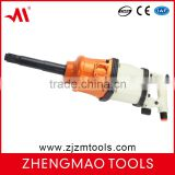"ZM-105L 1"" inch air impact wrench industrial garde pneumatic wrench air tool with singel hammer roking dog structure"