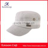 Custom Plain Military Cap And Hat With Custom Metal Logo Design Custom Made In Various Colors Wholesale Made In China