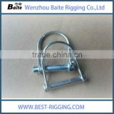 zinc plated mental galvanized chain hook