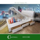 storage gas lift up hydraulic bed frame with gas lift, bed with drawers