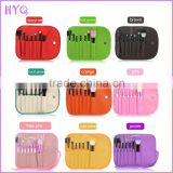 7 PCS/Set Professional Cosmetics Makeup Brush Set Make-up Toiletry Kit Wool Brand Make up Brush