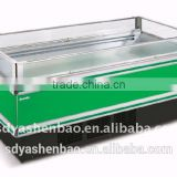 commercial display freezer/supermarket display freezer/supermarket island case/showcase freezer
