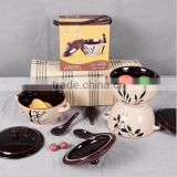 Mini Casserole Ceramic Bowl HY1672302