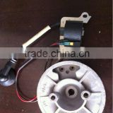 Spare parts of Shindaiwa grass trimmer flywheel ignition coil spark plug piston clutch gearbox