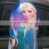 Hot sale New frozen shape princess shape foil balloon/mylar , promotion balloon customized foil balloon