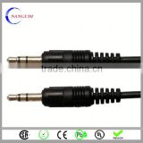 car headlight custom made 2.5mm male to 3.5mm male stereo plug audio cable