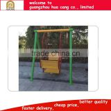 Outdoor playground equipment steel swing, fisher baby swing for kids