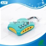 AJF High quality 4-digit big changing combination number lock for fitness club gym locker or cabinets