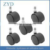 5 Pack - 50mm Nylon Twin Wheel Chair Casters ZYD-CS5