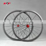 EN Standard! super light wheels 38mm Clincher With powerway Hubs CN Aero Spokes 20H/24H Front And Rear,carbon wheelset
