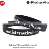 black comfortable silicone rubber band | black comfortable silicone rubber bangle | black silicone rubber bands