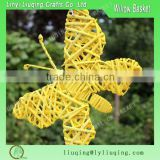 Decorative colorful Large butterfly decorations/Butterfly garden decorations/Wicker butterfly