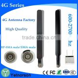 Household 4g rubber antenna with sma connector for indoor 4g base station antenna/9db 4g antenna