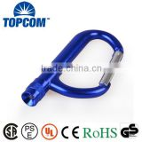 Promotional Big Aluminum Carabiner with LED light                                                                         Quality Choice
