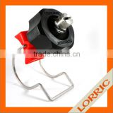 For coating machine - flat fan spray nozzle with pipe cleaning clamp nozzle