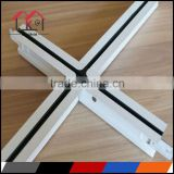 38H# Metal decoration suspended ceiling T grid,decorative ceiling t grid