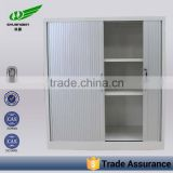 Half high key lock office roller shutter door filing cabinet,small steel cupboard price