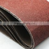 hard blue diamond alumina abrasive sanding belts for polishing metal