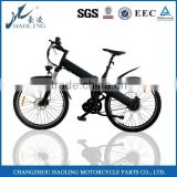 Flash 26' electric bike cycle with pedals bicycle bike full suspension front forks