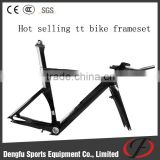 2016 Dengfu New Style Carbon Time Trial Bike, Triathlon Bike, TT Bike frame FM087                                                                         Quality Choice