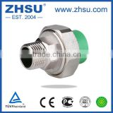 high quality 20-63mm ppr male thread union