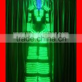 Stilts walker led strip light for clothes,full color change led robot suit,led costume robot