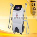 Wrinkle Removal Ipl Rf Nd Yag Laser Hair Pain Free Removal Machine/elight With Ce/home Use Ipl Skin Tightening