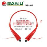 Best sall sport stereo bluetooth headset for bicycle helmet with microphone V4.0 bk 830 bluetooth headphone                                                                         Quality Choice