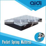 Classical Ripstop Polyether Foam Pocket Spring Mattress, Fine Breathable Latex Mattress C-LS-FP30-3