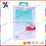 Plastic packing paper box/phone shell packaging/paper case for ipad /Blister packaging box