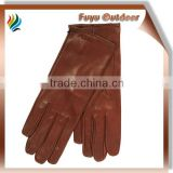 goat sheep skin gloves for laides, jacinth &all colors, sizes can be customized, logo is ok