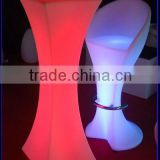 LED Luminous Furniture Set Indoor & Outdoor bar Furniture sets/led night culb table/
