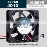 Alseye CB0501 manufacture 4010-1 12v (40x40x10mm) dc axial cpu fan with 3000RPM Auto Restart Protection or General Options
