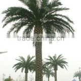 Outdoor Decorative Bionic Big Palm Tree Bionic Dry Tree Pole Steel Mounted Tree Made In China