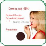 Super colorant carmine e120 cochineal carmine carmine powder Lake for cosmetics
