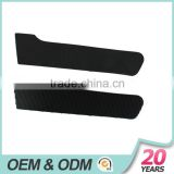 ECO black color cuff tab with injection hook and PU