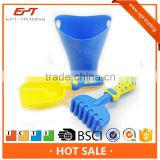 Top quality plastic sand beach toys bucket set 3pcs