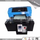 cheap price A3 UV flatbed printer / digital printing machine for aluminium board / metal