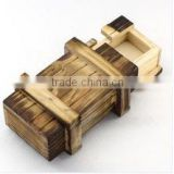 classical wooden puzzle box wooden packaging wholesale