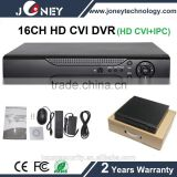 16ch channel HD CVI DVR 1080P DVR H264 CCTV dvr with cms free software