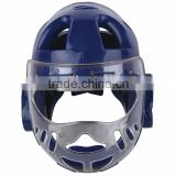 2016 Custom made Taekwondo Kick Boxing Head Guard equipment/ Youth Boxing protector Headgear/head face mask