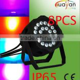 2016 Professional high power 24*12W RGBW 4 in 1 waterproof LED par light,dj,bar,night club,led outdoor par light
