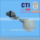 DN15 Male Thread Brass Water Tank Ball Float Valve