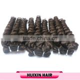 double drawn european remy weft human hair remy virgin human hair extension