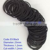 50mm Popular BLACK Rubber Band for Packing - MIX colors Rubber band Manufactured in Viet Nam various size