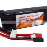 CNDHD 11.1V 8C 2200MAH RC Transmitter TX Lipo Battery Akku Power for Walkera DEVO10 JR 8CH 10CH Radio Controller