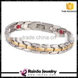 Bulk buy from China health stainless steel jewelry 316l stainless steel bracelet 4 in 1 stainless steel jewelry