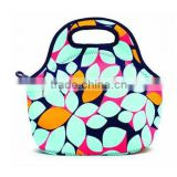 Portable Neoprene lunch bag can cooler small thermo lunchbox office-bag women lunchbags kids