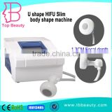 Expression Lines Removal Best Result HIFU Back Tightening Ultrasound Body Slimming Machine