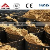 Plastic geocell/geogrid For Gravel Stabilization